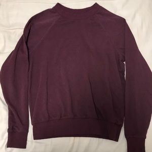 H&M maroon sweater